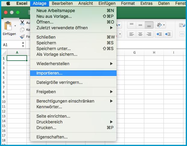 Berichte als CSV-Datei herunterladen, öffnen und drucken – orderbird ...